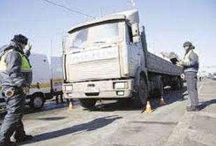 Пропуск на перегруз грузового транспорта